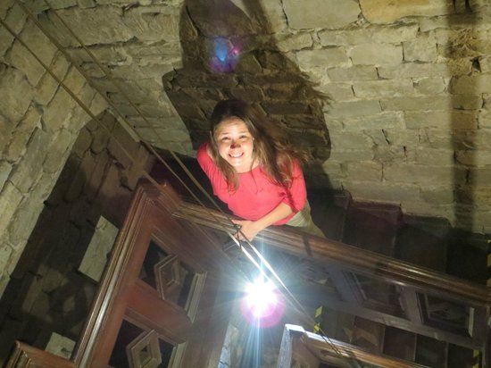 Torre Guelfa Hotel: climbing the stairs of the tower