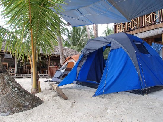 Jj S Cafe And Small Beach Tent