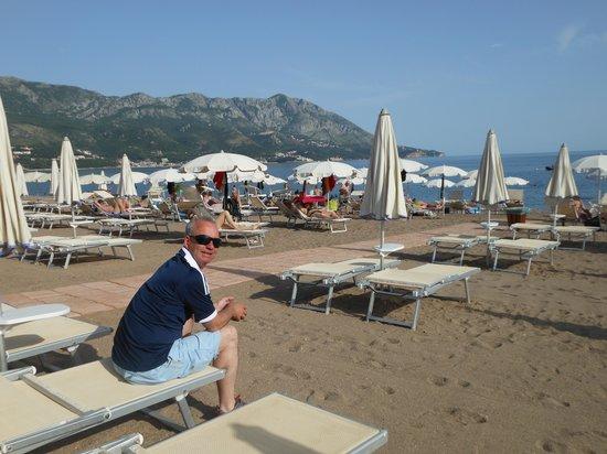 Hotel Tara: taras beach