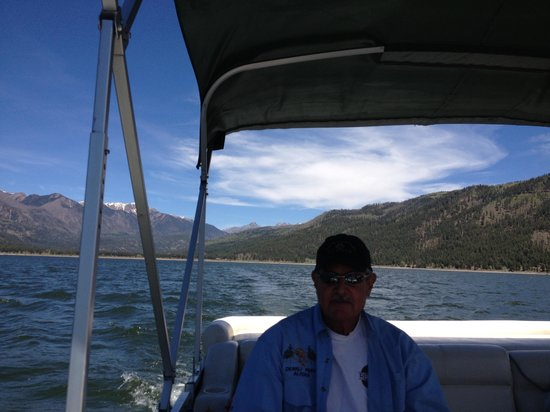 Vallecito Lake: Capt of a 24 footer