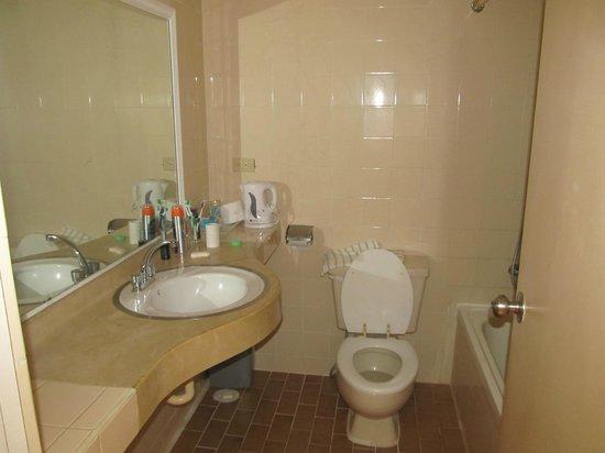 Hotel Sun Palace : ванная