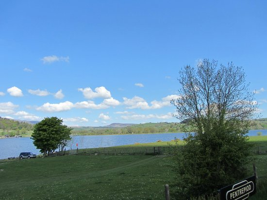 Bala Lake Railway: A View of Bala Lake
