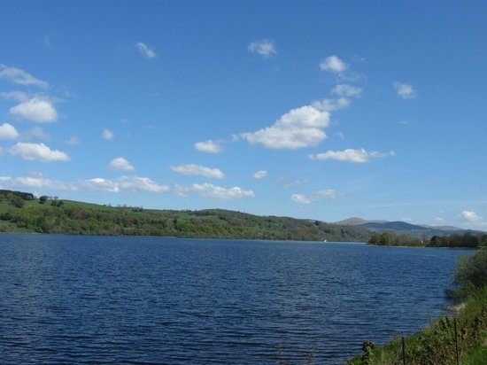 Bala Lake Railway: Another View of Bala Lake