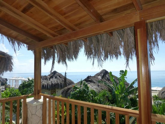 The SPA Retreat Boutique Hotel: View from our balcony