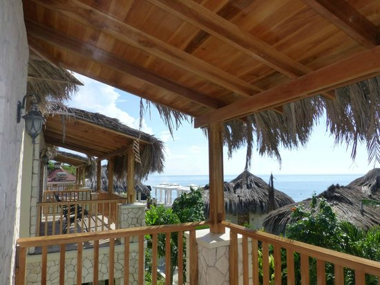 The SPA Retreat Boutique Hotel: Our amazing balcony
