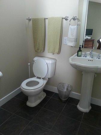 Nelscott Manor: Bathroom in the bastersuite