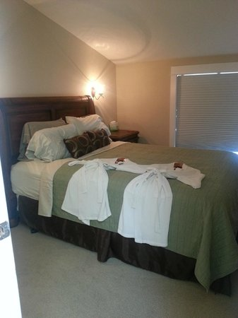 Nelscott Manor: This is the 2nd bedroom, it is on the smaller side but still very nice!