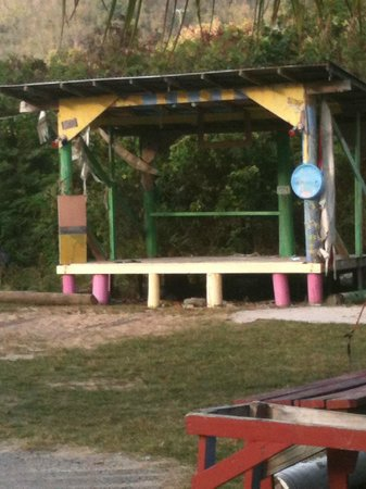 Sebastian's on the Beach : Bomba Stage