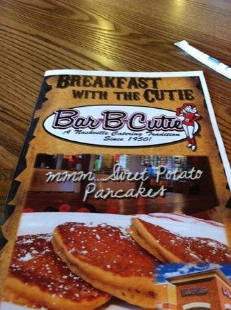 Bar-B-Cutie Mt. Juliet tn: Breakfast available all day!