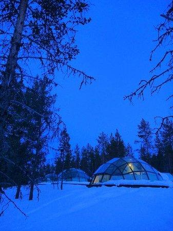 Kakslauttanen Arctic Resort : ~ オーロラ・星空鑑賞スタート ~