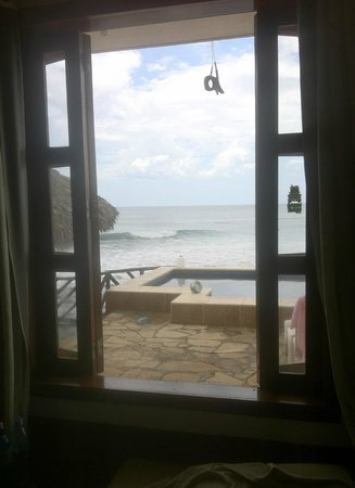 Miramar Surf Camp: View from the beachfront rooms