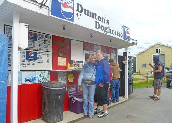 Dunton's Doghouse: Funky little roadside stop. (Just drive through town on Commercial—you WILL pass it, can't miss.