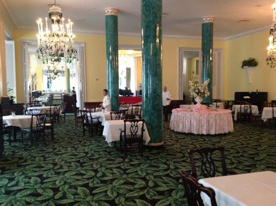 The Greenbrier: Main dining room during afternoon tea