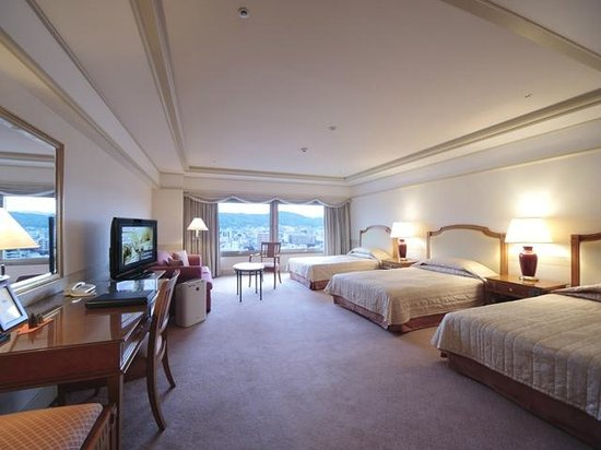 Hotel Nikko Princess Kyoto: トリプルルーム