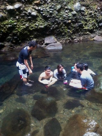 Mt Banahaw: Water looks serene and clear OMG! Freezingly cold!