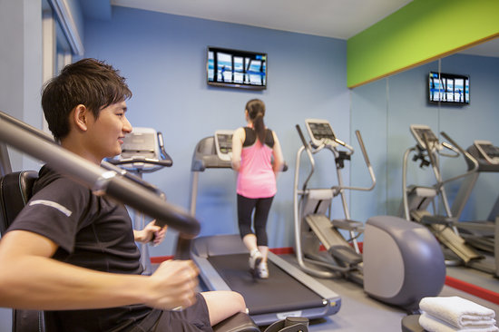Park Hotel Hong Kong: Fitness Room