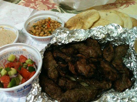 Hosny : Our delicious Kofta & Kabab