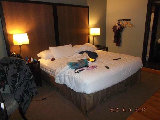 Centro Motel: bed