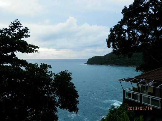 Secret Cliff Resort: View from my balcony....heaven :)