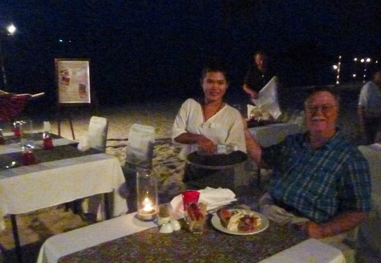 Imperial Boat House Beach Resort: Seafood Night on the Beach-- great experience