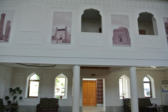 Siyavush Hotel: エントランス