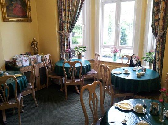 Her Majesty Hotel: la sala della colazione