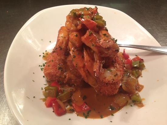 Shrimp & Grit Cakes - Picture of Bonefish Grill, Merritt Island ...