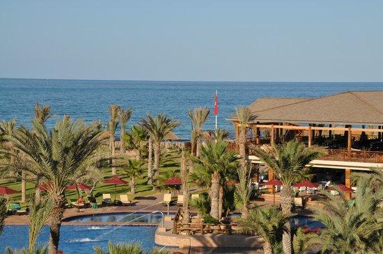 Hasdrubal Thalassa & Spa Djerba: Piscine exterieure et vue Mer