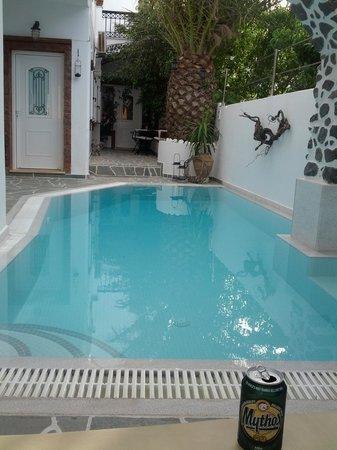 Galatia Villas: Poolside