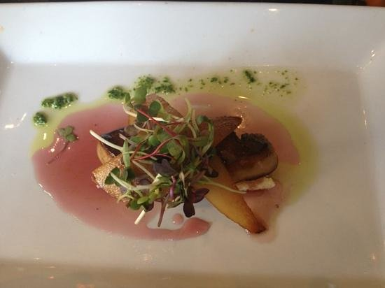Masraff's: Foie gras- delicious!