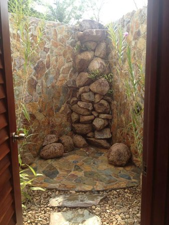 Hidden Valley Inn: The private, waterfall shower was such a great addition.