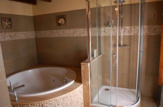 Hotel Pleamar: The jacuzzi (La Faneca room)