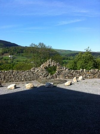 Sun Bank Holiday Cottage and Bed & Breakfast: gorgeous morning view