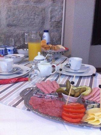 Villa Toni: breakfest...