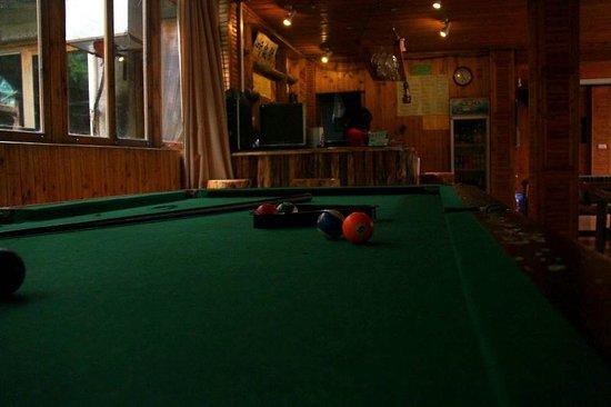 Longji International Youth Hostel: Billiards
