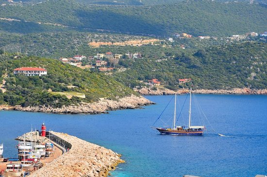 Hideaway Hotel: The view of Kas harbour.