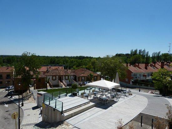 El Jardin de la Abadia: La terraza del hotel desde la habitación