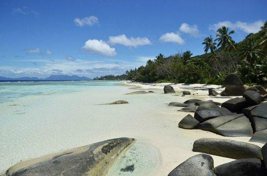 rock beach picture of hilton seychelles labriz resort spa silhouette island tripadvisor. Black Bedroom Furniture Sets. Home Design Ideas