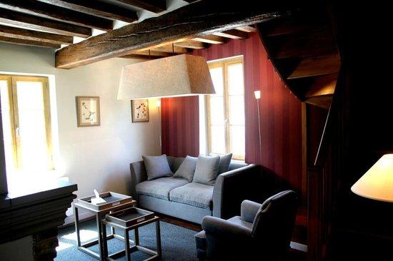 Les Maisons de La Licorne : Salon La Mare à la Chanvre
