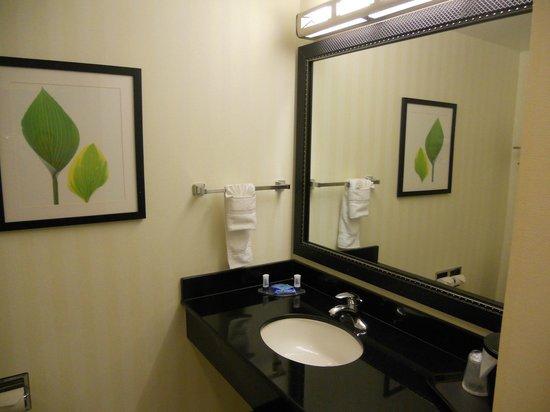 Fairfield Inn & Suites Washington, DC/New York Avenue: sdb