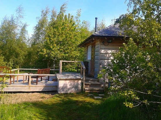 Yew Tree House Bed and Breakfast: summerhouse
