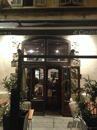 Restaurant Il Canaletto : Ali Baba's cave