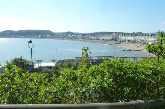 Hydro Hotel: View of promenade from The Orme
