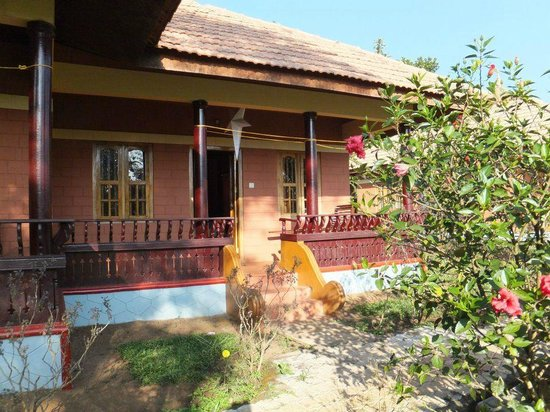 Ayurveda Yoga Villa: Bungalow accommodation, very spacious with private balcony
