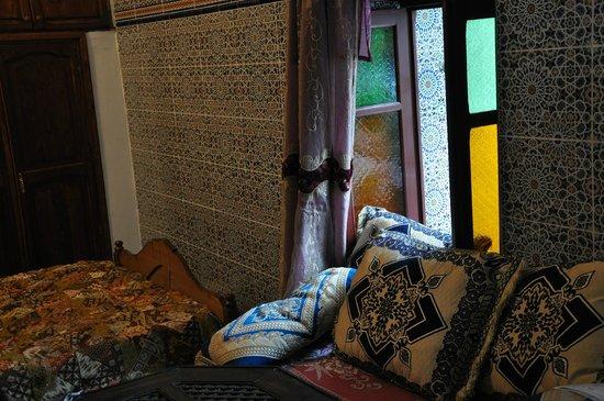 Ryad Bab Berdaine: particolare in camera