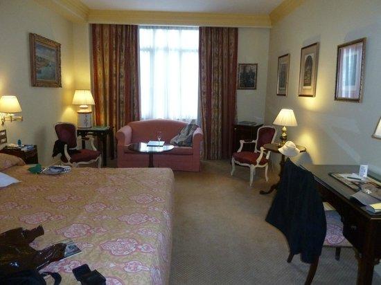 Hotel Orfila: vue de la salle de bain