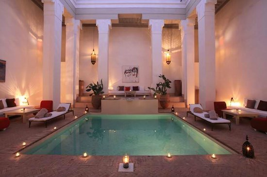 Hotel & Spa Riad Al Jazira : Patio