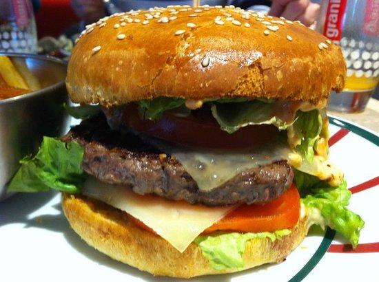 Le Victoria: le burger