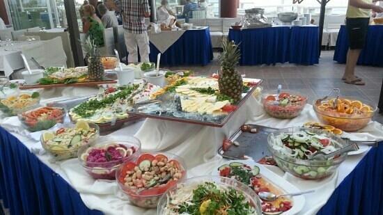 Kalypso Cretan Village: soiree barbecue du dimanche