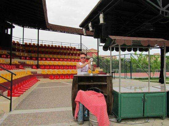 Orfeus Park Hotel: Amphitheater